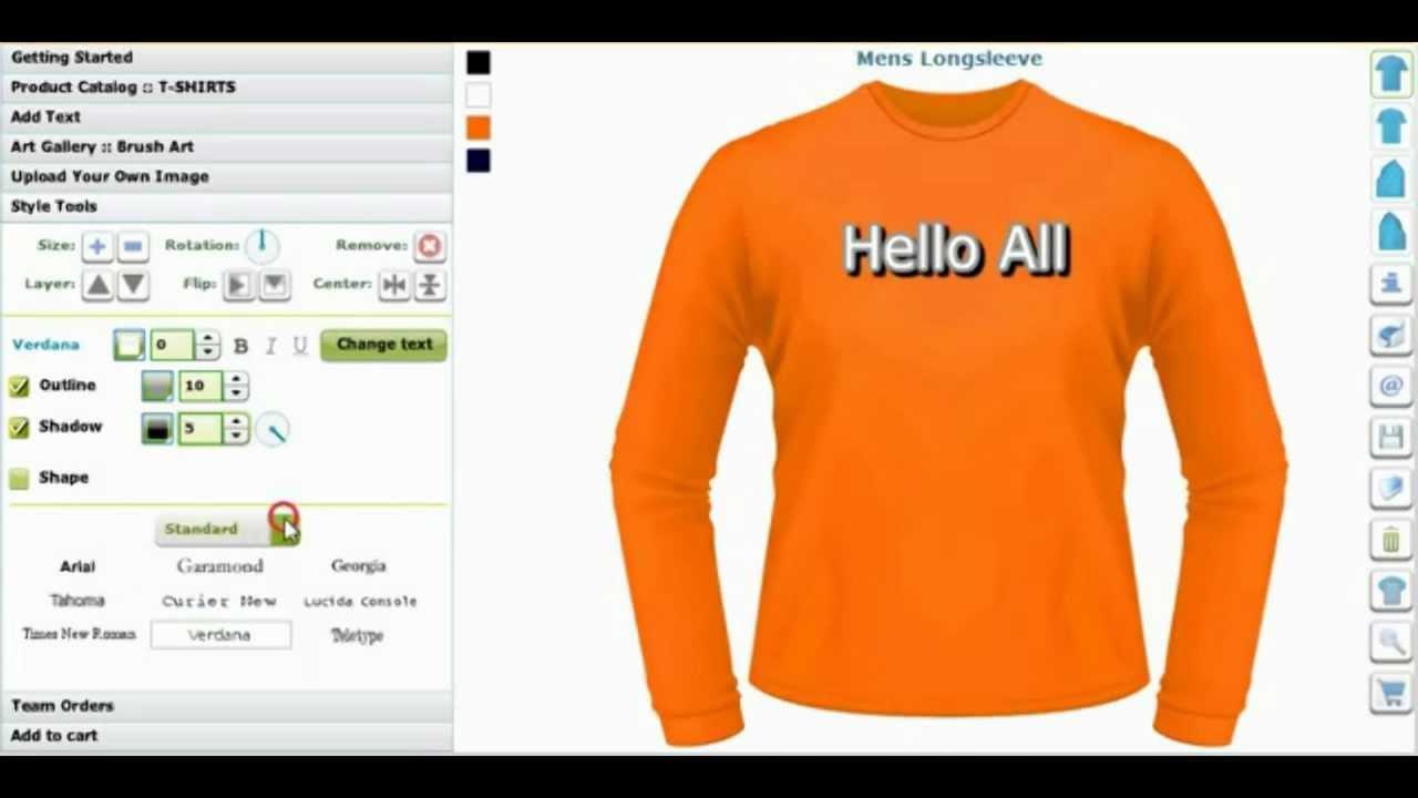 Jersey T Shirt Design Maker