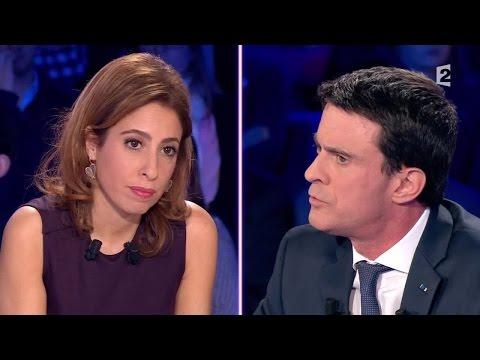 """Léa Salamé à Manuel Valls: """"Quelle est l'efficacité de l'état d'urgence ?""""#ONPC"""