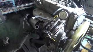 Проверка давления масла в двигателе D4CB 5836955 Porter II Euro III