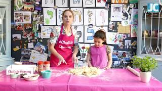 Purim challah - bake with your kids!