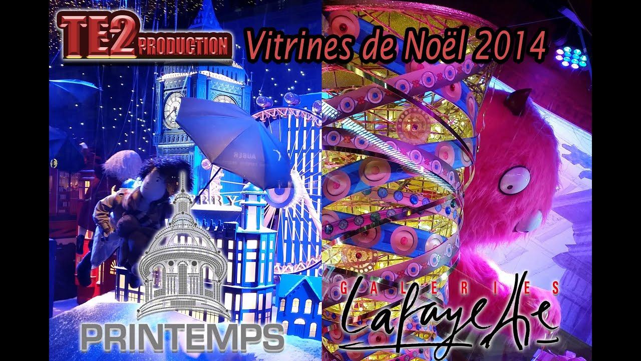 Vitrines de no l 2014 printemps galeries lafayette youtube - Vitrine noel galerie lafayette ...