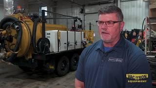 VMVS Vac Tron Series MacAllister CAT Case Study on vacuum excavator rentals