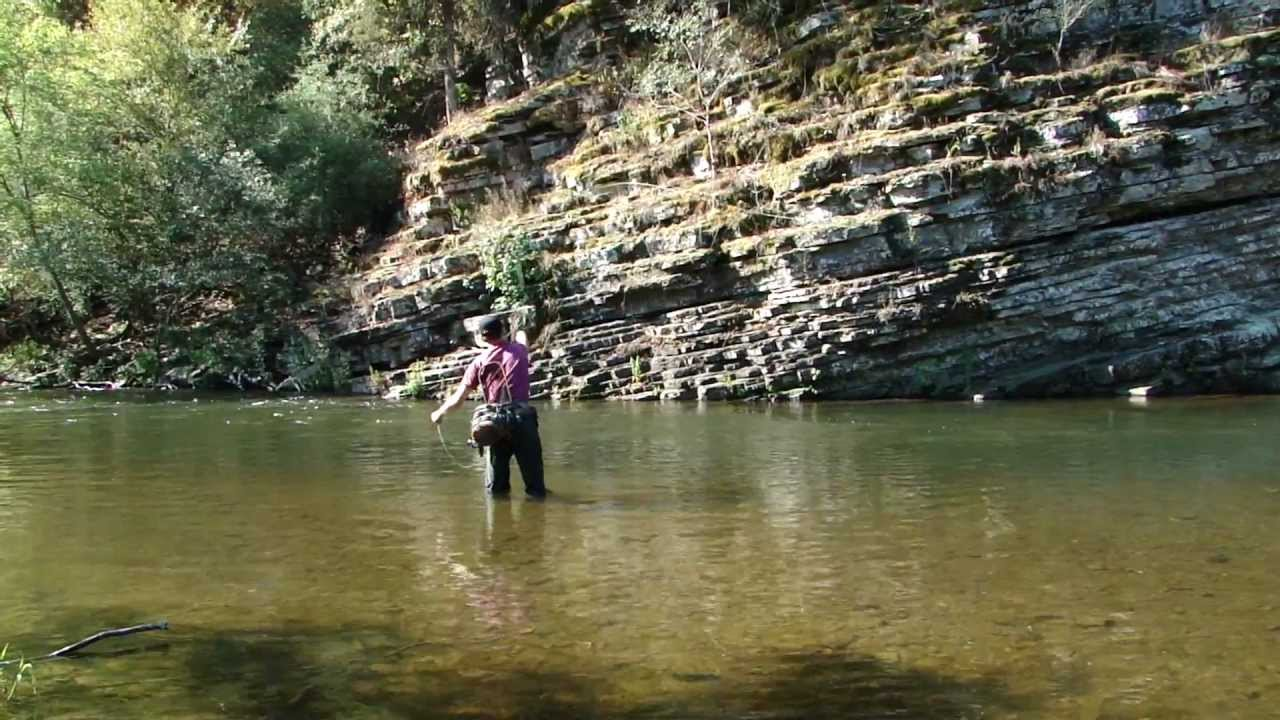 Fly fishing lower mountain fork youtube for Oklahoma trout fishing