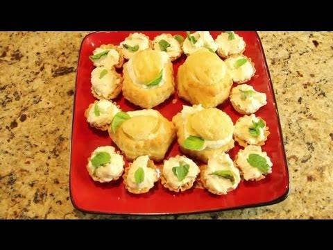 Cream Cheese Sugar Free Cream Puffs Recipe   Diabetic Recipes