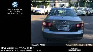 Used 2009 Volkswagen Jetta Sedan | Hot Wheels Auto Sales LLC, Manchester, CT