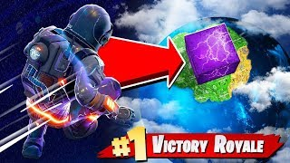 THE *HIGHEST* JUMP POSSIBLE in Fortnite Battle Royale! - Cube Gravity Experiments!