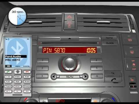 Ford 6000CD Mobiltelefon verbinden
