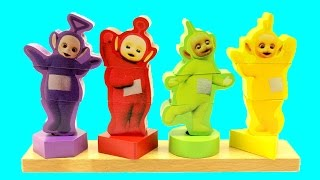 Learn Colours With Teletubbies |  Learn Colors With Teletubbies toy | Sorting Teletubbies for Colors