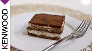 Tiramisu Recipe | Demonstrated with Kenwood Chef