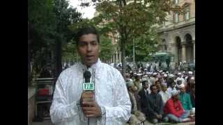 NTV Europe - Eid ul Azha in  Italy 2012 by A K Zaman