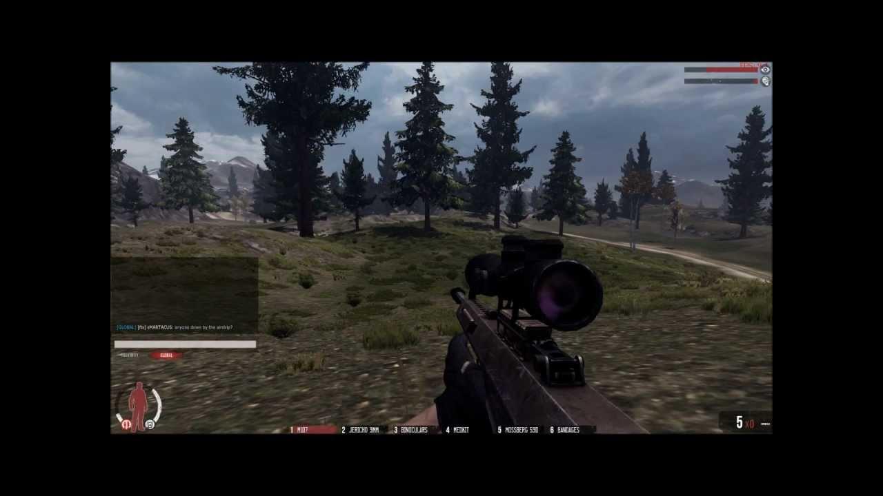 WarZ Barrett M107  50 Cal  M107 Warz