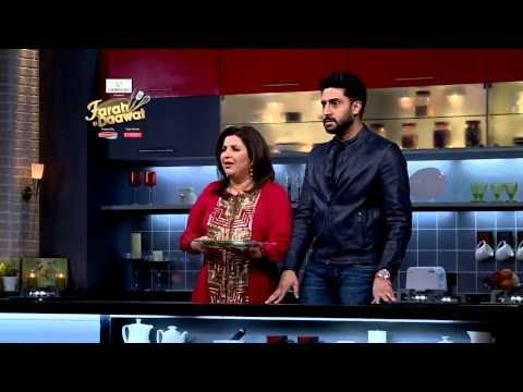 Making of the episode: Farah Ki Daawat with Abhishek Bachchan