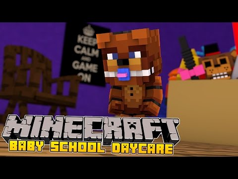 Minecraft -Baby Day Care- LITTLE KELLY KIDNAPPED BY BABY FNAF!
