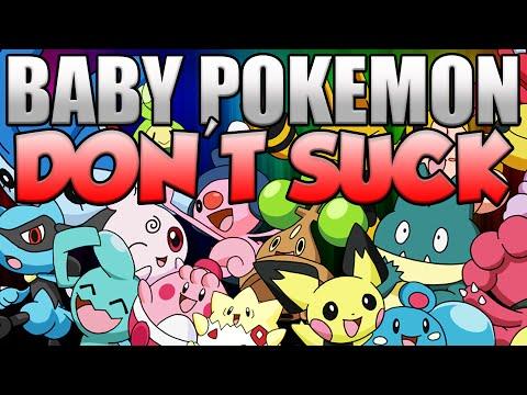 BABY POKEMON DON'T SUCK! 5 Reasons Baby Pokemon are AWESOME! Pokemon Trivia