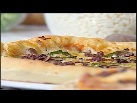 تورته البيتزا الشيف #غفران_كيالي #هيك_نطبخ #فوود