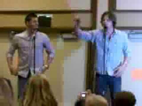 Supernatural Chicago Convention: The Eyelash Story