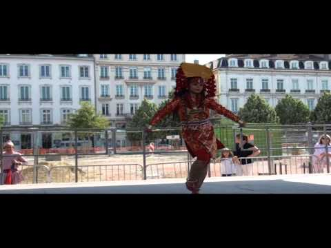 Nepal Embassy Paris-Tourism promotion program at fetes consulaires, Lyon, France.wmv