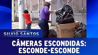 Esconde-Esconde - Hide and Seek Prank | Câmeras Escondidas (19/11/17)