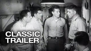 Run Silent Run Deep Official Trailer #1 - Clark Gable Movie (1958) HD