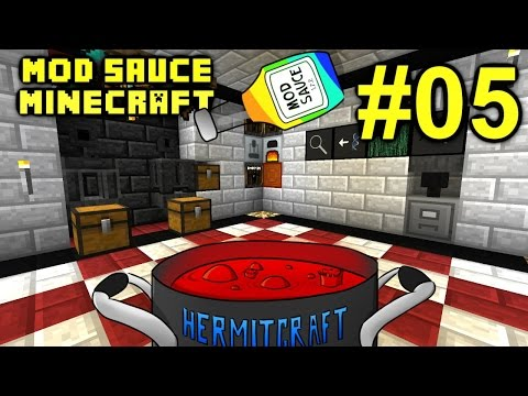 Minecraft Mod Sauce Ep. 4 - Got Power !!! ( HermitCraft Modded Minecraft )