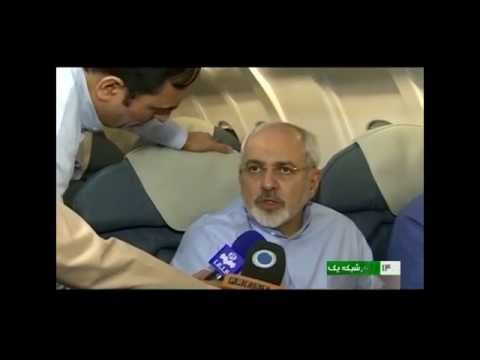 Report of Iranian TV about meeting of Zarif,Ashton,Kerry in Oman