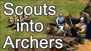 AoE2 Build Order: Scouts into Archers!