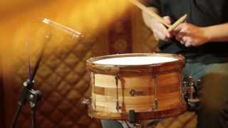 Guru Drums In-Tense series.  Honest snare drum comparison video