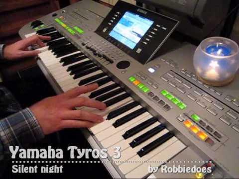 Yamaha Tyros 3: Silent night - SA2 Panflute (Premium voice)