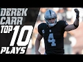 Derek Carr& 39;s Top 10 Plays Of The 2016 Season Nfl Highlights