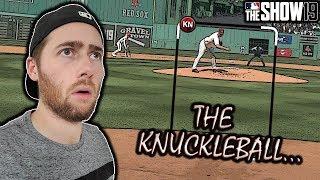 HE HAD 2 KNUCKLEBALLERS....MLB THE SHOW 19 DIAMOND DYNASTY