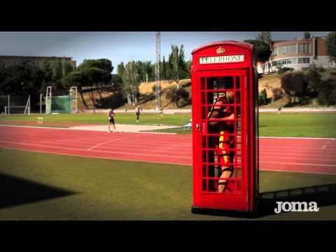 Joma Olímpico 2012. Selección Española de Atletismo Olimpiadas de Londres 2012.