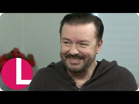 Ricky Gervais Jokingly Has 'A Strop' In His Interview With Lorraine! | Lorraine