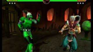 Mortal Kombat Armageddon K.A.F. charpack3 ptB Cyber Reptile and Animal Kreate-A-Fighter