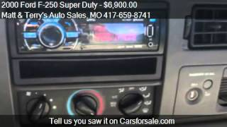 video 2000 Ford F-250 Super Duty for sale in Joplin, MO 64801 at t