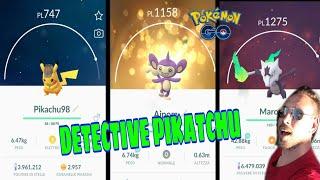DETECTIVE PIKACHU EVENTO! MAROWAK ALOLA E AIPOM SHINY: POKEMON GO ITA