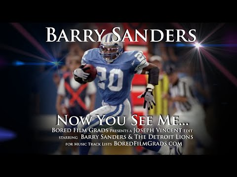 Download Lagu  Barry Sanders - Now You See Me Mp3 Free