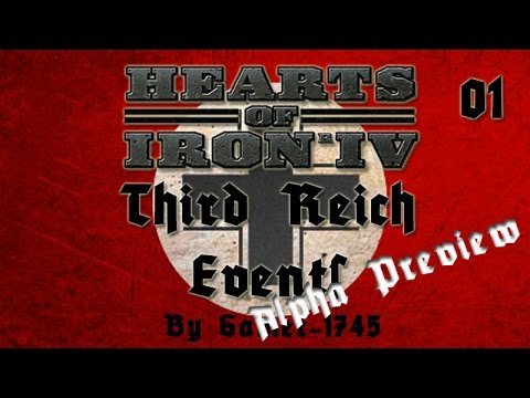 Third Reich Events for Hearts of Iron IV