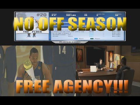 NBA 2k14 My Career PS4 - NO FREE AGENCY!!! @NBA2k Drops the Ball Again...