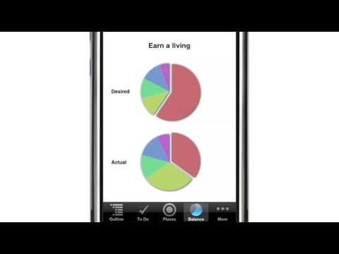 Life Balance for iPhone demo