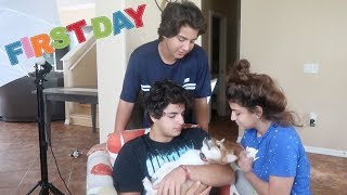 FIRST DAY WITH THE NEW MEMBER OF THE K FAMILY !!! VLOG #88