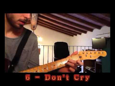 Top 10 Hard Rock Guitar Riffs (in My Opinion)