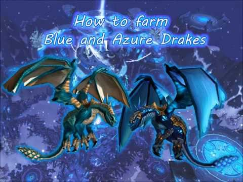 How to farm both Malygos mounts! blue and azure drake mount drop!
