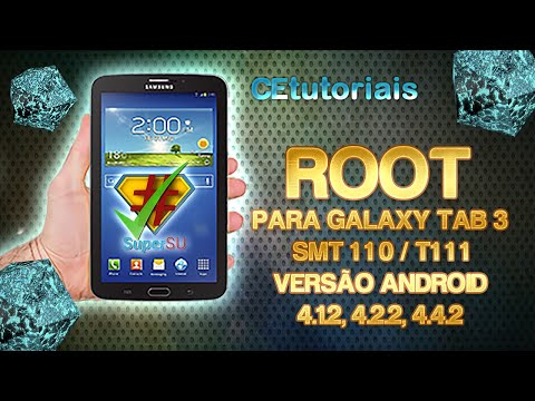 Root para Galaxy tab 3 SMT110 lite e T111 com TWRP Recovery