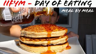 "Full Day Of Eating ""IIFYM"" (3,000 + calories) CrossFit, Bodybuilding, and Running"