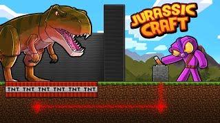 Minecraft Jurassic Craft - HELPING DINOSAURS ESCAPE!