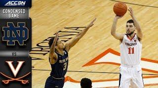Notre Dame vs. Virginia - Condensed Game | 2018-19 ACC Basketball