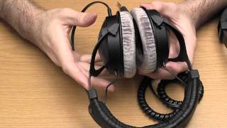 Beyerdynamic DT 250 and DT 770 PRO headphones review and comparison