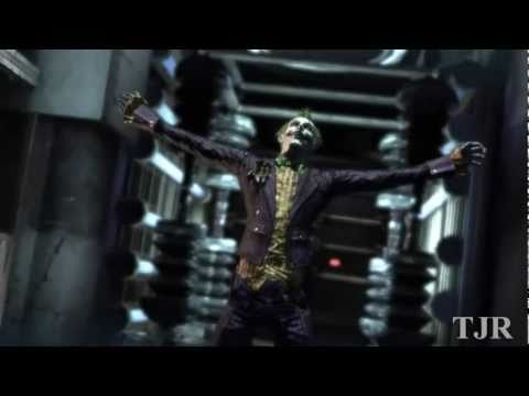 BATMAN ARKHAM ASYLUM FULL LENGTH CINEMATIC TRAILER
