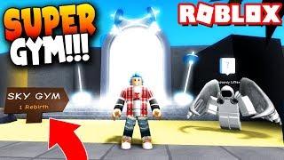 ¡El GIMNASIO CELESTIAL! REBIRTH - Roblox: Weight Lifting Simulator 3