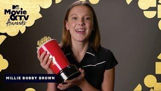 Millie Bobby Brown's Anti-Bullying Message   2018 MTV Movie & TV Awards